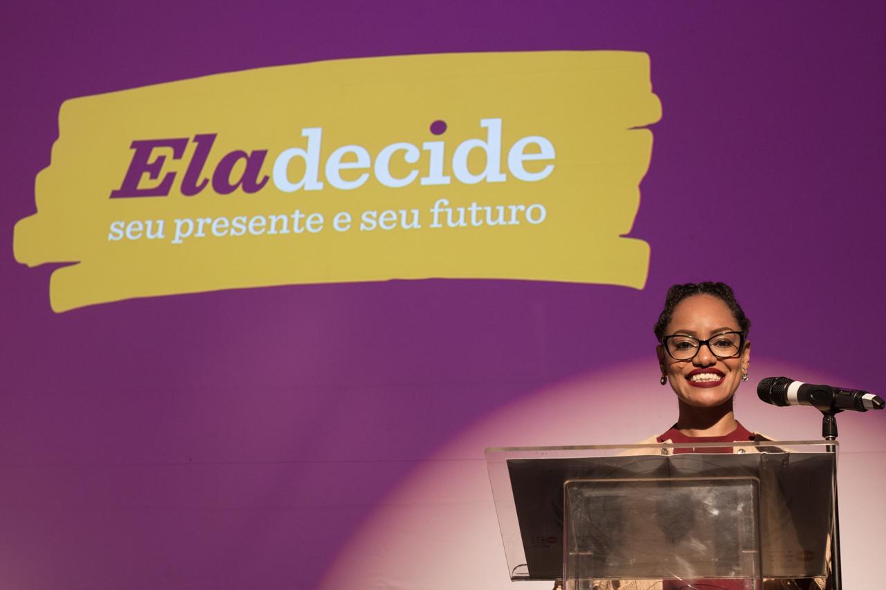 Lançamento da Campanha Ela Decide seu Presente e seu Futuro: confira as fotos
