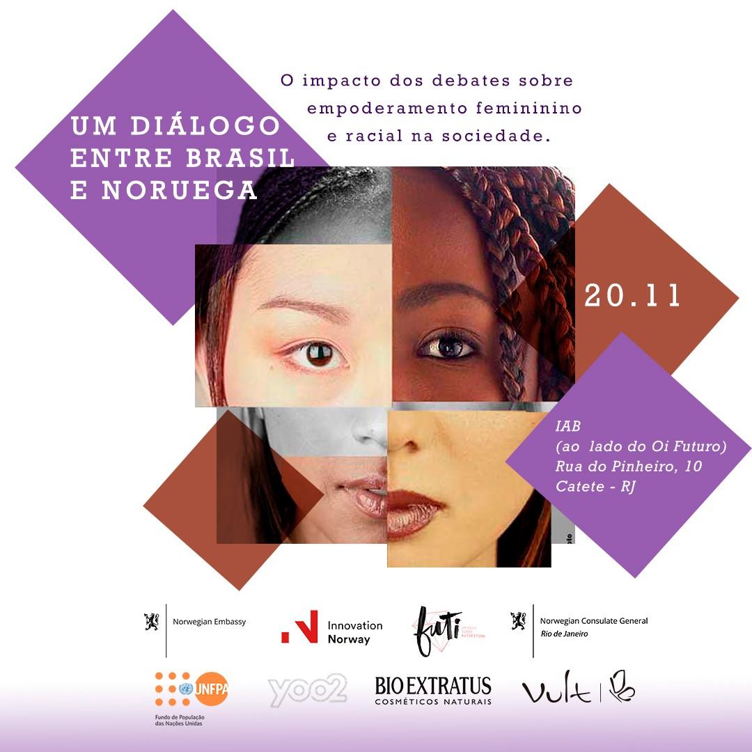 Igualdade de gênero e raça são foco de debate no Rio de Janeiro